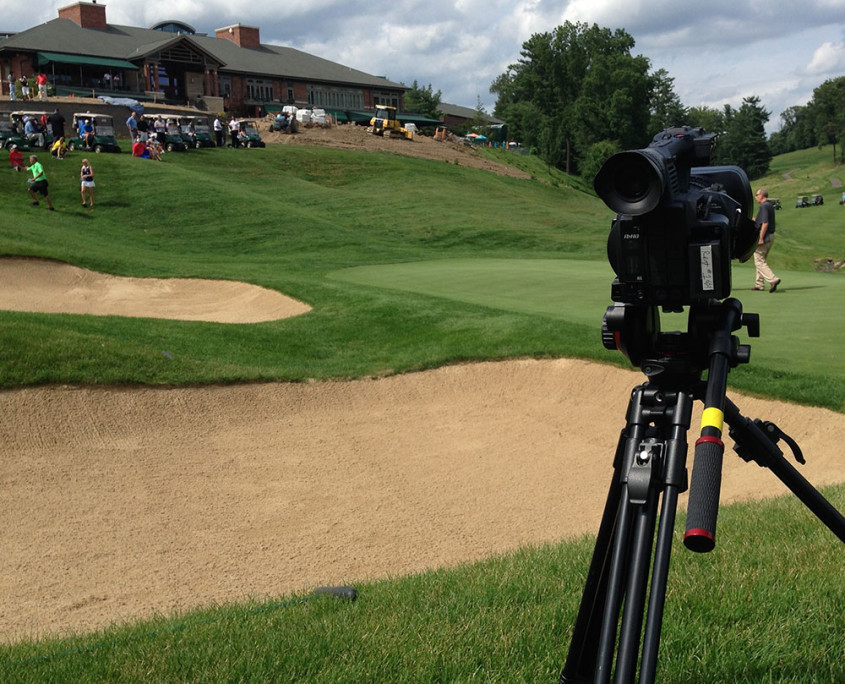 golf course video production