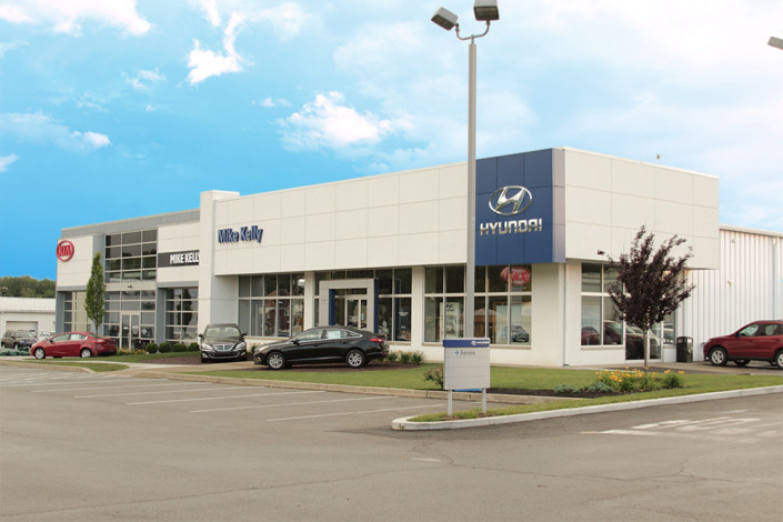 Mike Kelly hyundai store exterior